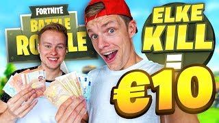 ELKE KILL = €10 WAARD! HIJ SCOORT DE JACKPOT! - Fortnite #46