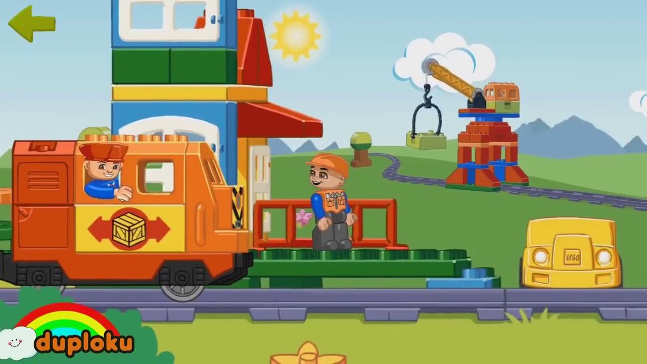 Kompilasi Kereta Api Lego Duplo Ke Ibu Kota dan Ke Kebun ...