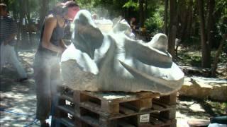Symposium de sculpture - Laragne 2009