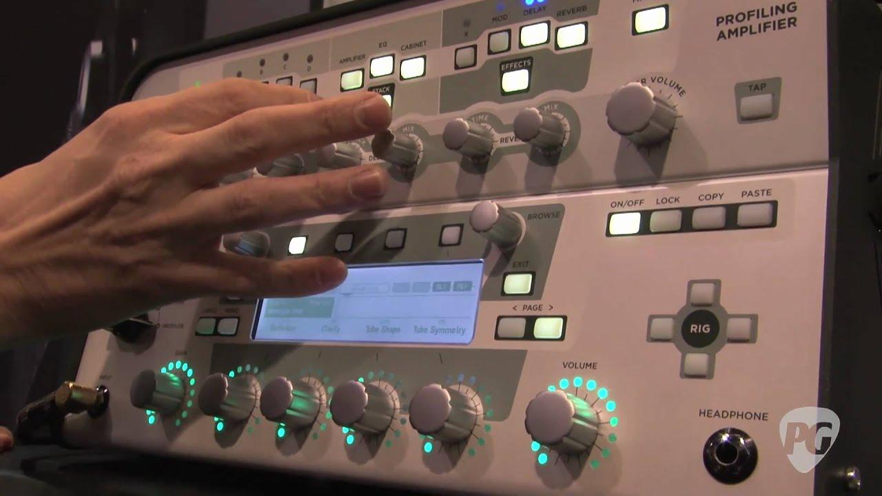 Amp in Cloud, Kemper online guitar reamping