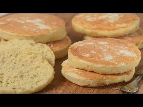 English Muffins Recipe Demonstration - Joyofbaking.com