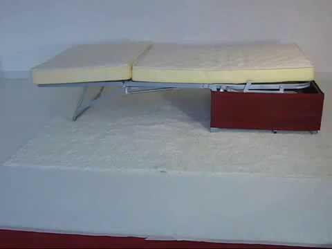 Компания «Сантамброджио диваны Милано» представляет: Пуф-кровать