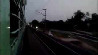 journey compilation on a high speed simhapuri exp    part 1 vijayawada bza warangal wl