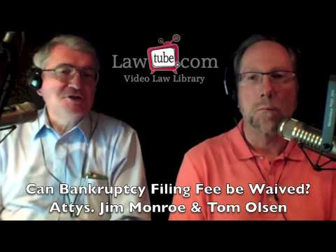 bankruptcy filing fees 2014