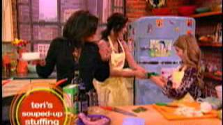 Teri Hatcher & Emerson on Rachael Ray (2007)