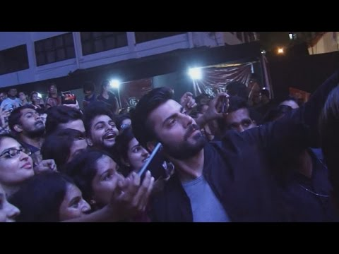 Fawad Khan gets MOBBED by girls  UNSEEN crazy video