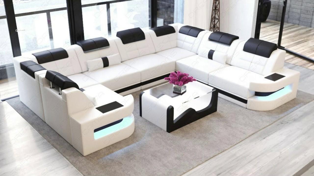 Best U Shaped Sofa Set Designs & Ideas, Styles - YouTube