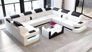 Best U Shaped Sofa Set Designs & Ideas, Styles