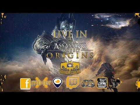 Assassins Creed Origins: Deeper in Ancient Egypt with Gotham Gotcha & Star warsbf2