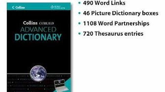Collins Cobuild Advanced Dictionary with CD Rom