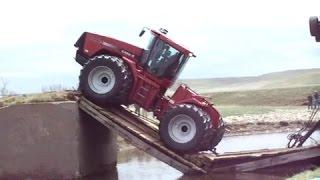 Приколы с тракторами/Fun with the tractor/ 2016