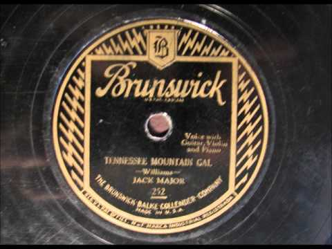 TENNESSEE MOUNTAIN GAL by Jack Major - Country Yodel
