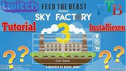Skyfactory 3 Modpack intallieren | Tutorial Deutsch