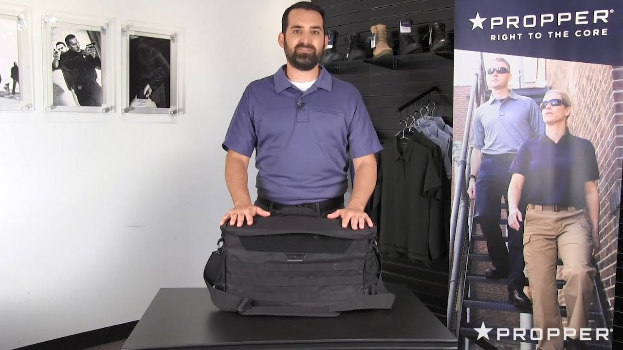 Police Patrol Bag Features