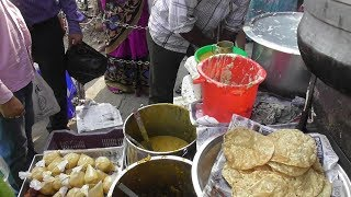 Busy South Indian Street Food Shop Exactly Opposite CMC Vellore Tamil Nadu