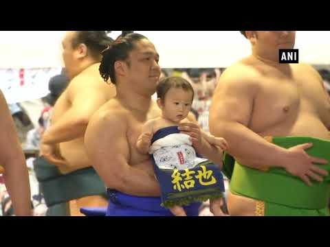 Sumo festival shines positive light on scandal-hit Japanese wrestling