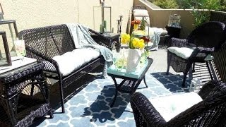 How To: Decorating Your Balcony On A Budget