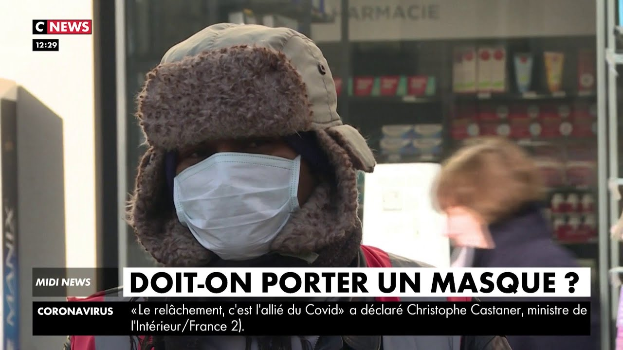 Coronavirus :  doit-on porter un masque ?