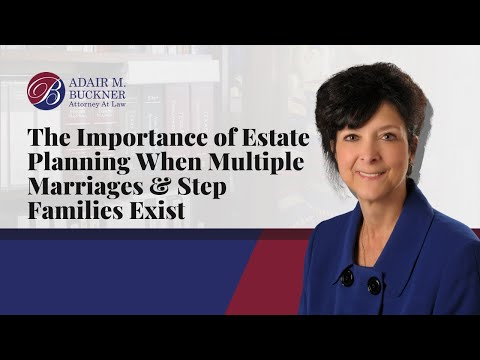 When second or third marriages exist & step families are involved, it is extremely important that you create and establish your estate plan before it is too late. If you do not identify exactly how you wish for your estate to be distributed, the state will take the matter into it's own hands - which is not how most families wish to distribute their estate.