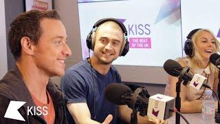 James McAvoy & Daniel Radcliffe | KISS Breakfast Takeaway