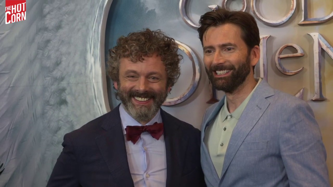 GOOD OMENS | Michael Sheen, David Tennant and the cast @ New York Press  Screening | HOT CORN