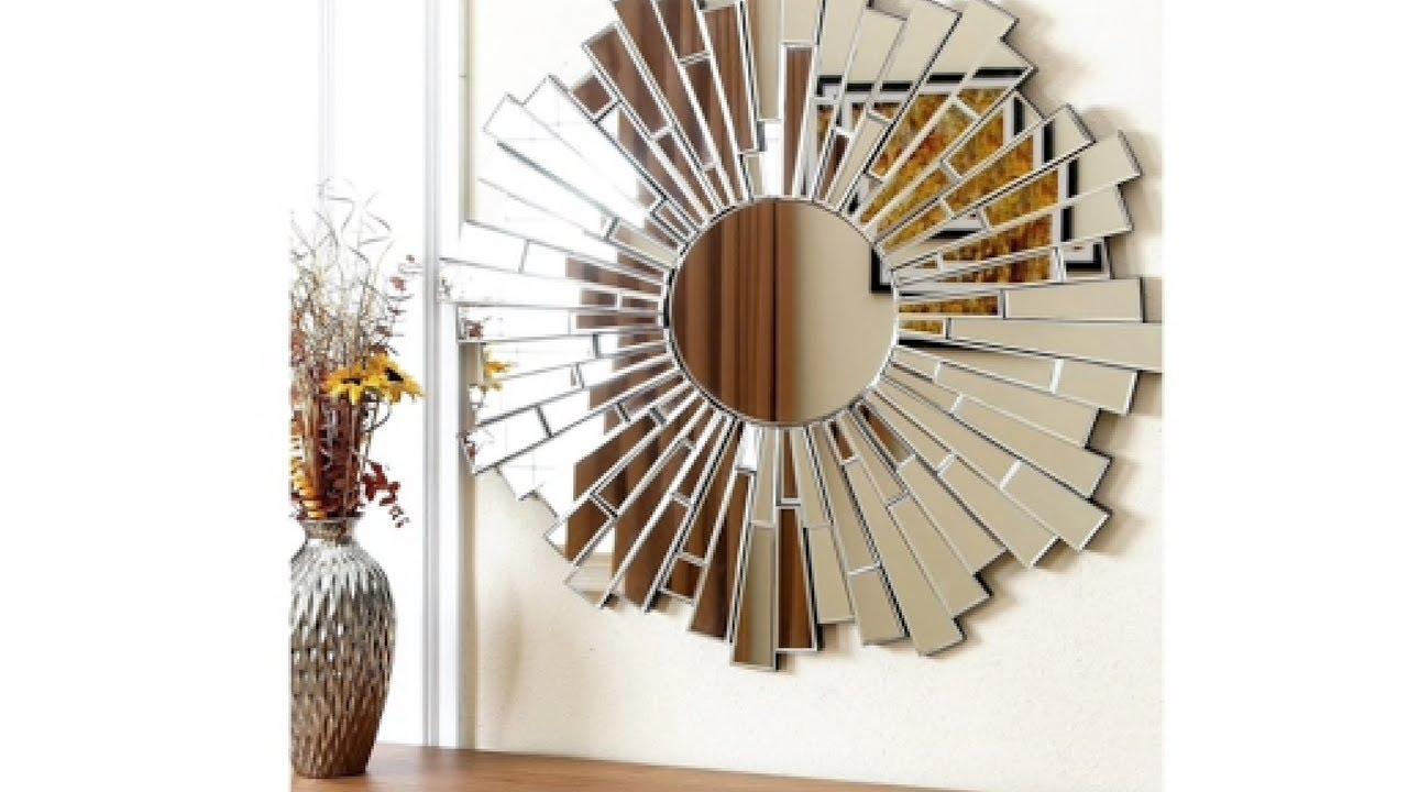 diy wall mirror decor for homes inexpensive - Mirror Decor