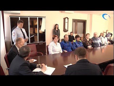Руководители районного отдела полиции встретились с жителями деревни Подберезье