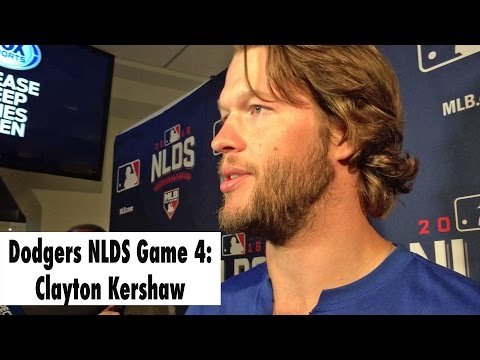 Dodgers NLDS: Clayton Kershaw pitches Game 4
