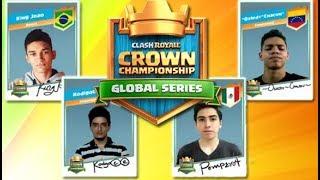 Pompeyo4 vs Osledy / Kodigo vs King Joao - Lo Mejor de la semana 4 | Clash Royale CCGS