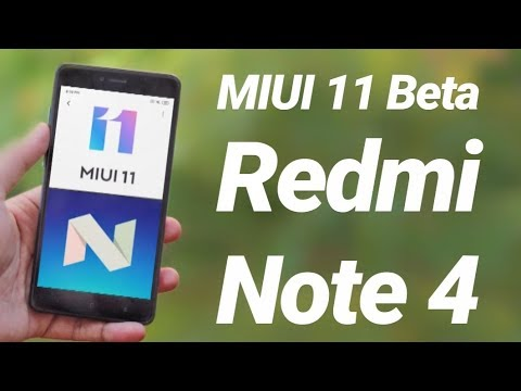 Redmi Note 4 Offcial MIUI 11 Beta | Download & Review