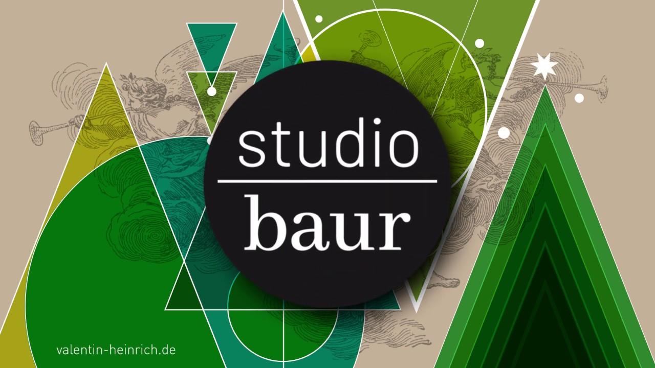 studio baur w nscht frohe weihnachten youtube. Black Bedroom Furniture Sets. Home Design Ideas