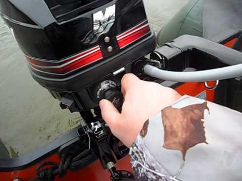 как правильно завести лодочный мотор сузуки