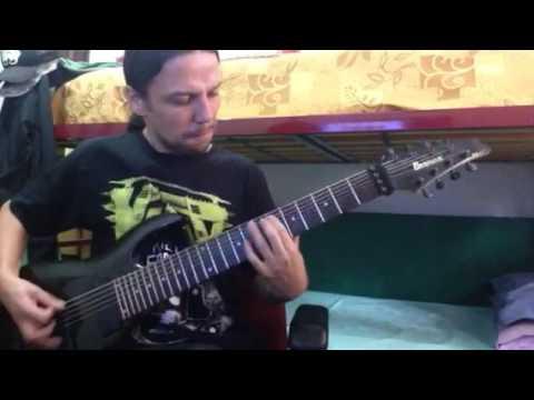 Entombed - Revel In Flesh (cover guitar)