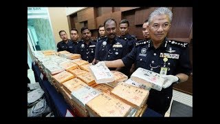 Cops seize 252kg of cannabis worth RM630,250