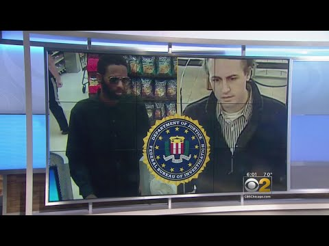 FBI Search For Two Serial Bank Robbers