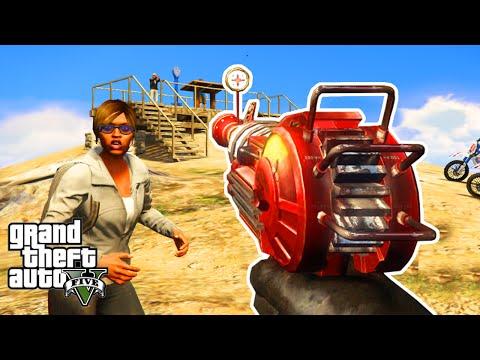 Gta 5 mods ray gun weapon mod gameplay gta 5 ray gun mod funny