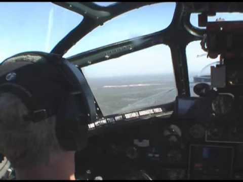 A flight on the B-24 Liberator