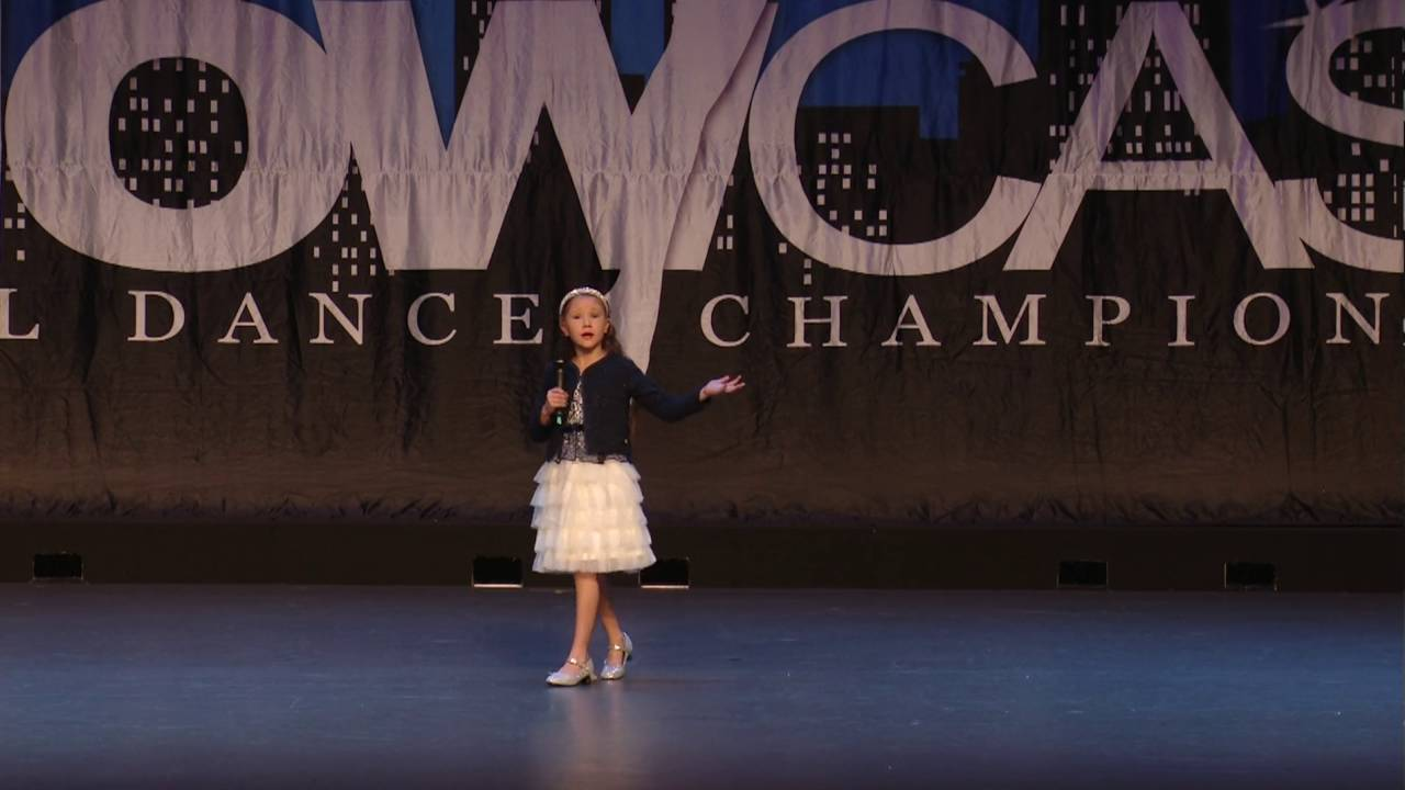 ZA Holt (8yrs) - 2nd Place @ Showcase Regional Dance Comp (6 Aug 2016)