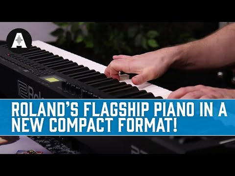 Roland RD-88 Digital Stage Piano - Turning their Flagship Model Portable!