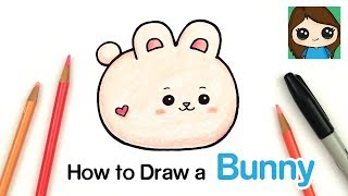 How to Draw a Baby Bunny Rabbit | Anirollz