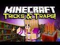 Minecraft TORCH LEVERS & MORE MOD Spotlight! - Secrets, And Traps! (Minecraft Mod Showcase)