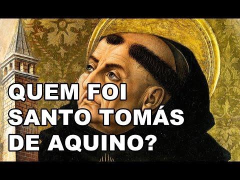 Quem foi Santo Tomás de Aquino?