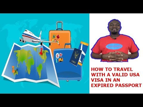 TRAVEL WITH VALID USA VISA IN EXPIRED PASSPORT