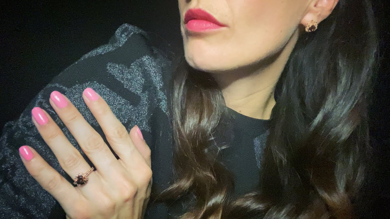 ASMR - Face Tapping and Scratching - Invisible Triggers - Jeulia Jewelry
