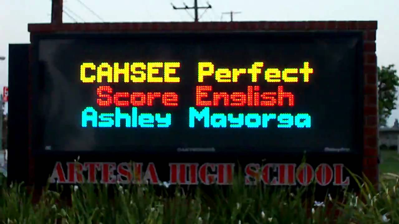 How to Interpret a CAHSEE Score
