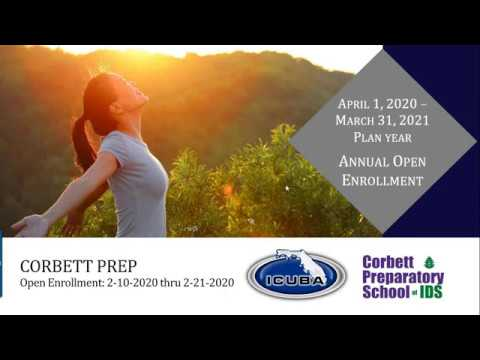 Corbett Preparatory School of IDS - 2020 Open Enrollment Webinar