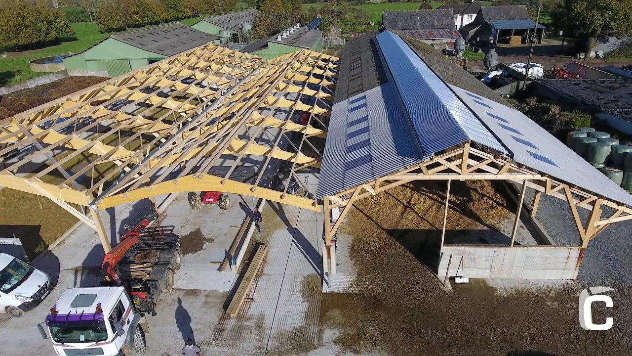Construction hangar agricole miniature for Construction agricole
