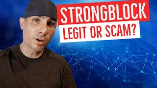 Is the Strongblock cryptocurrency node project legit or a scam?
