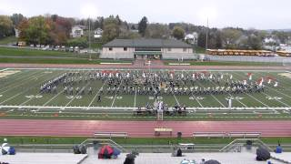 HHS Marching Band PIMBA Adjudication at Penn-Trafford 10-19-13