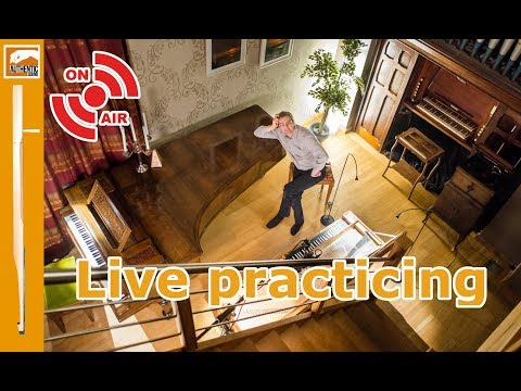 LIVE Practising Pachelbel Hexachordum Apollinis